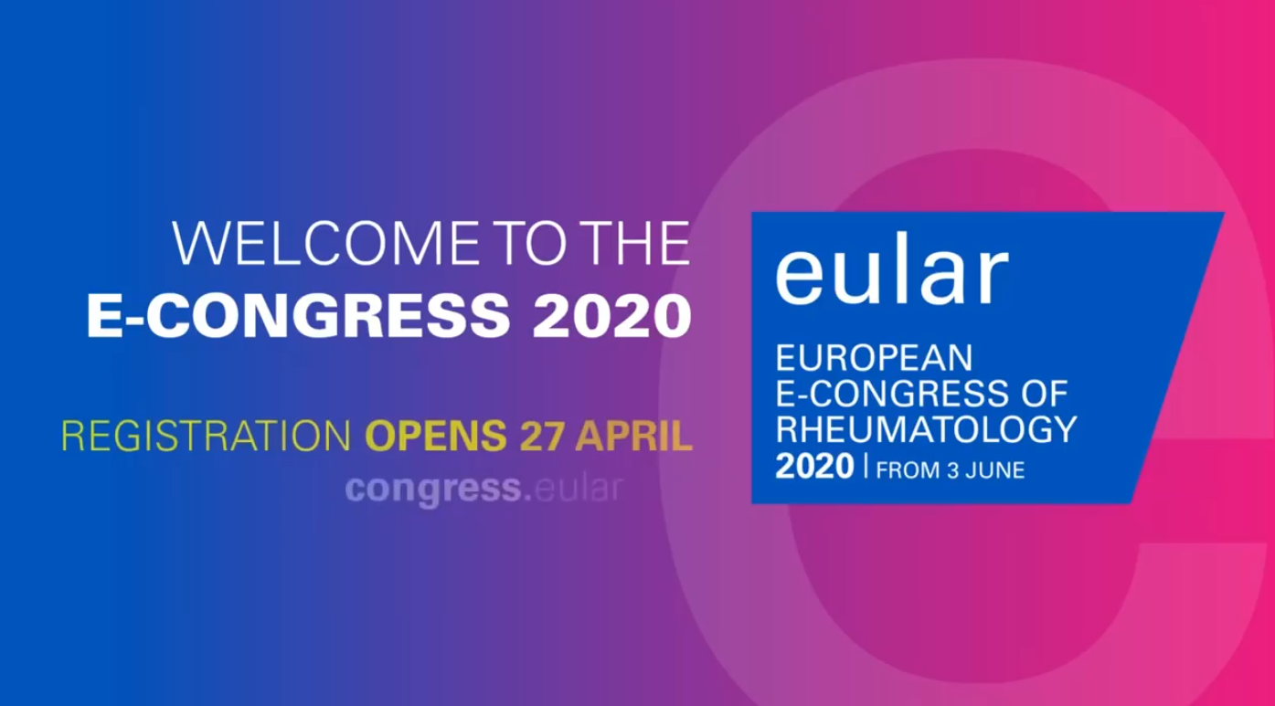 С 3 по 5 июня пройдёт конгресс Европейской лиги по борьбе с ревматизмом для пациентов